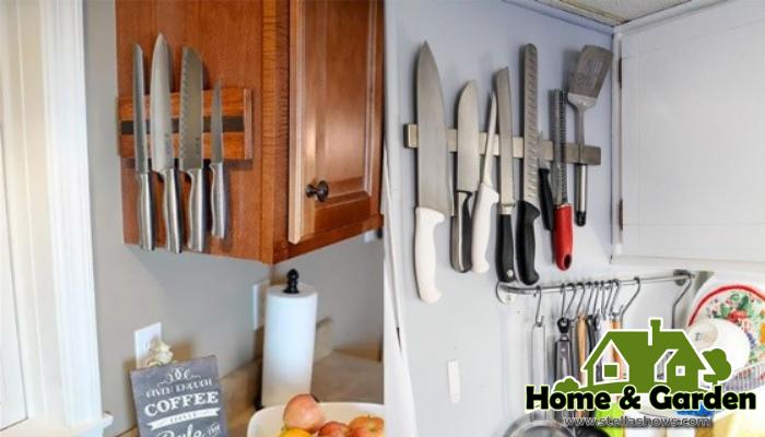 รวมไอเดียการเก็บมีดในแบบที่ต้องการ มีดเป็นอุปกรณ์ที่มีความสำคัญมากในการทำอาหารเลยก็ว่าได้ แถมในปัจจุบันยังมีการผลิตมีดออกหลายแบบ